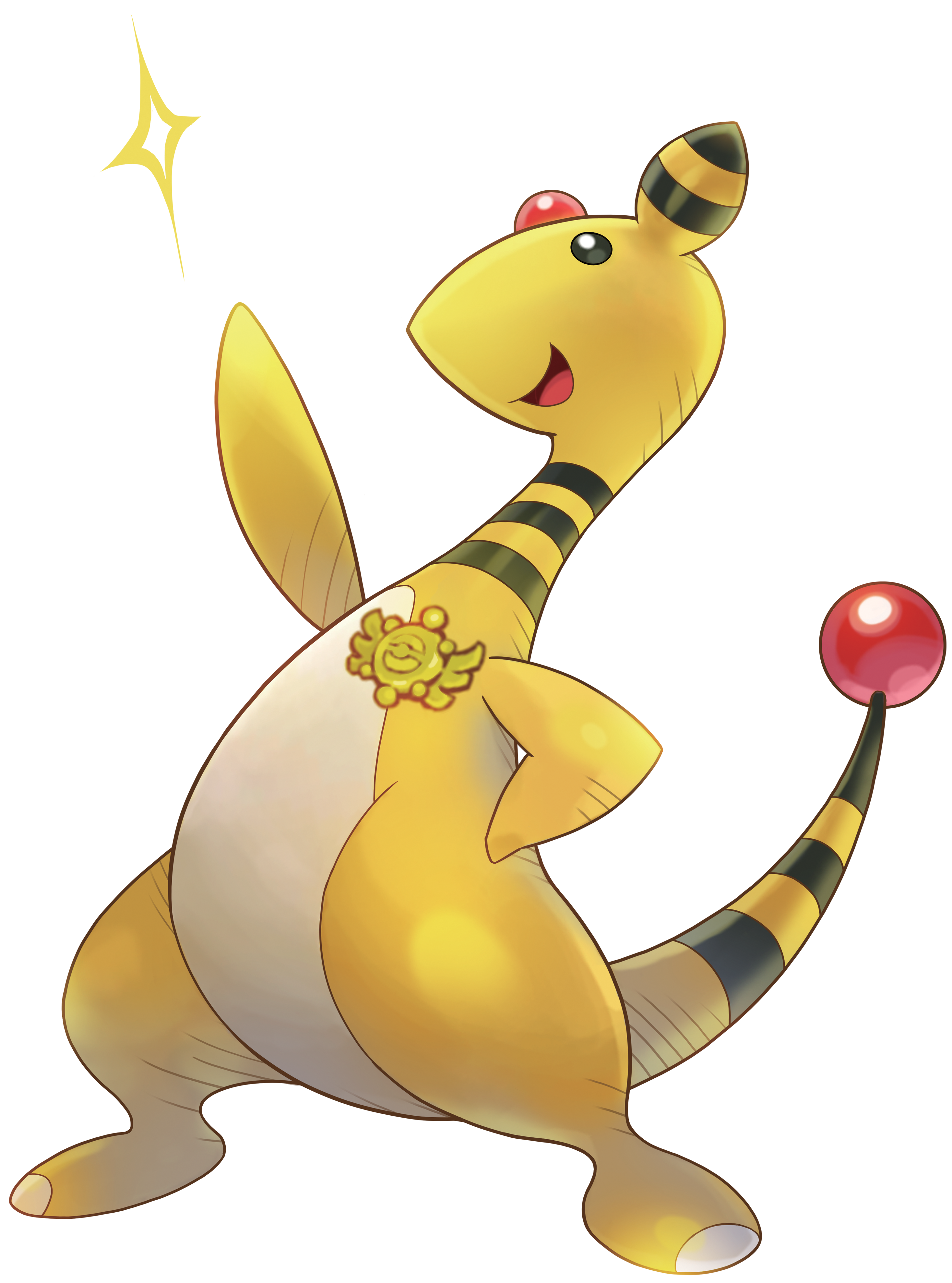 File:181Ampharos Pokemon Super Mystery Dungeon.png