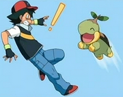 Ash and Turtwig