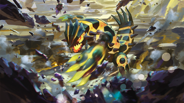 File:Shiny Mega Groudon - Pokemon TCG XY Ancient Origins.png