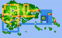 Lavaridge Town Map