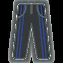 Pants F Grey Blue