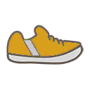 File:Shoes M Yellow Stripe.png