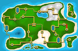 Torren Route 1 Map