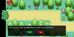 Trading in-game