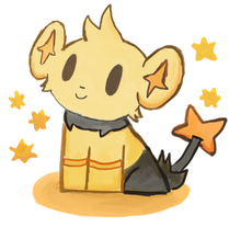 Shiny shinx by pokemonandfootball-d41xgwa