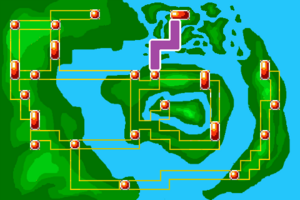 Map Victory Road