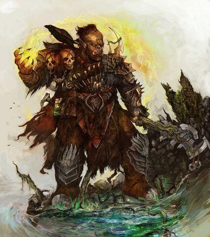 File:Orc war shaman by arankin-d57zntz.jpg