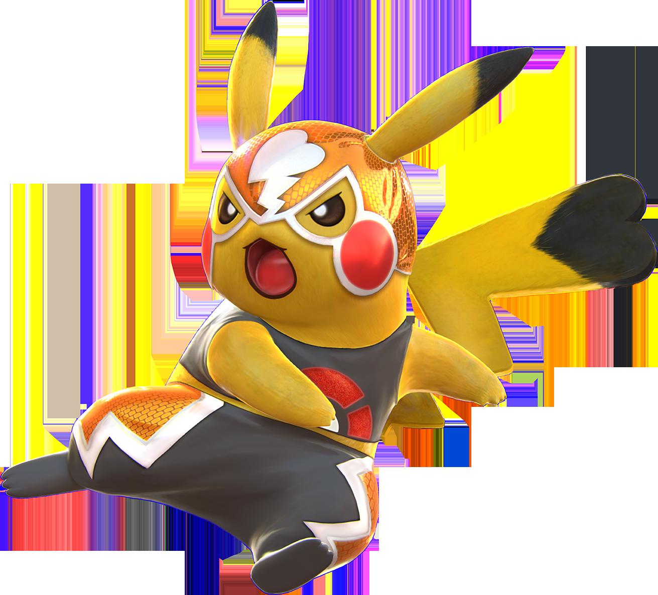 Pikachu Libre | Pokk&#... Gardevoir And Blaziken