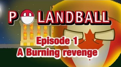 Polandball A Burning Revenge