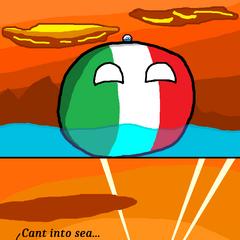 San Marino can't into sea