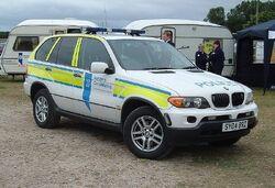 Northern Constabulary car