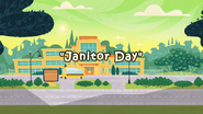 Janitor Day title card
