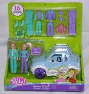 Polly Pocket Snow Cool Winter Cruiser