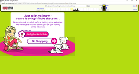 Polly Pocket website 2006 leaving the site