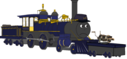 Cavalry soldier -hotchkiss revolving cannon-