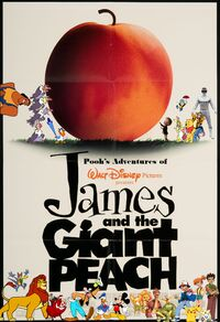 Pooh's Adventures of James and the Giant Peach Poster