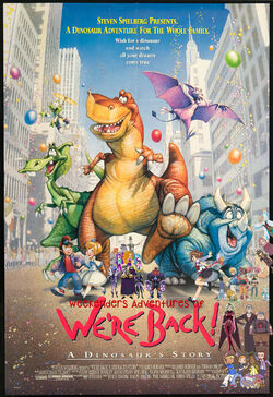 Weekenders Adventures of We're Back- A Dinosaur's Story