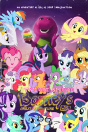 Twilight and Barney Movie Poster
