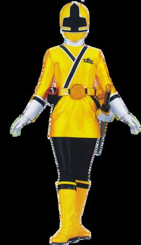 File:Yellow Samurai Ranger.png
