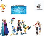 Sora Gets Frozen