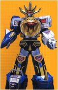Wild Force Megazord Striker Mode