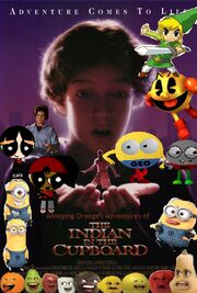 Annoying Orange's Adventures of The Indian in the Cupboard Poster
