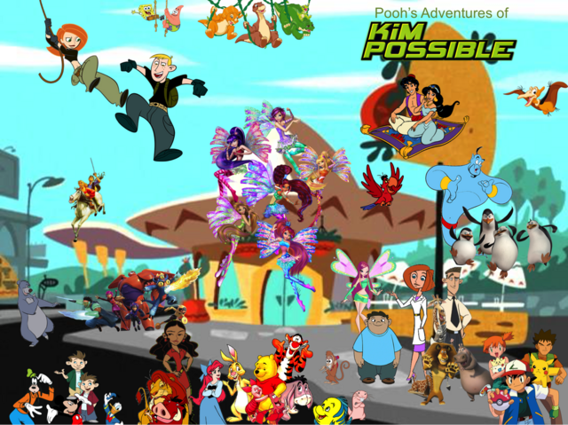 File:Pooh's Adventures of Kim Possible Season 2 Poster (CGI Sirenix).png