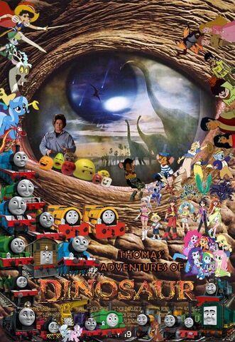 File:Thomas' Adventures of Dinosaur Poster.jpg