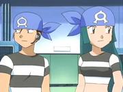 Team Aqua Grunts anime