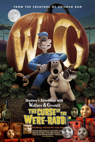 File:Skarloey's Adventures with Wallace & Gromit The Curse of the Were-Rabbit Poster.png