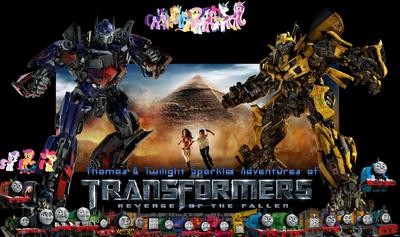 Thomas & Twilight's adventures of Transformers II
