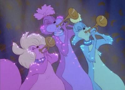Zazu, Cleo and Marina