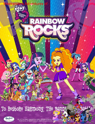 Weekenders Adventures of My Little Pony- Equestria Girls - Rainbow Rocks