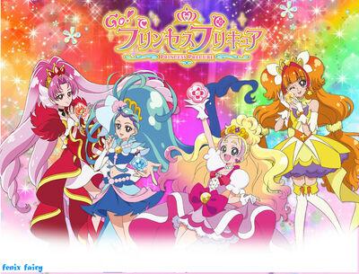 Go princess precure wallpaper by fenixfairy-d900710
