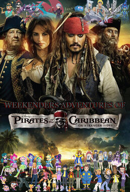 Weekenders Adventures of Pirates of the Caribbean Poster 4