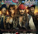 Weekenders Adventures of Pirates of the Caribbean: On Stranger Tides