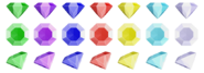 Sonic x chaos emeralds set by nibroc rock-davst00