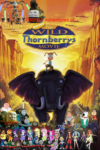 File:Thomas' Adventures of The Wild Thornberrys Movie (remake poster).jpg