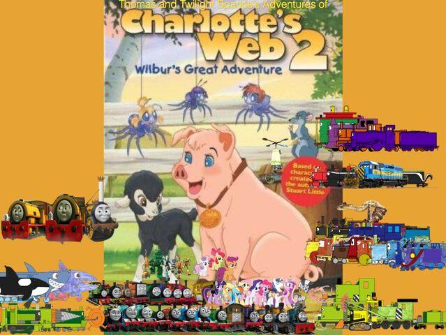 File:Thomas and Twilight Sparkle's Adventures of Charlotte's Web 2.jpg