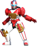 Red Warrior Ninja Zord