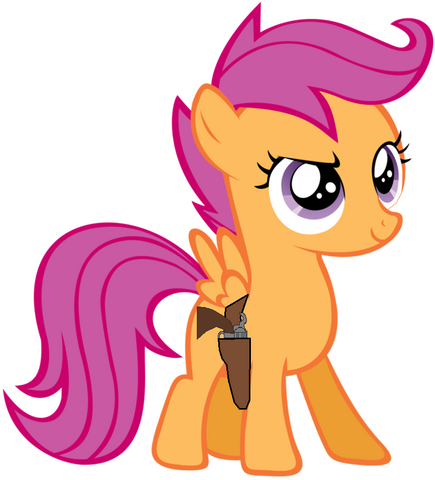 File:Scootaloo with .45 colt.png