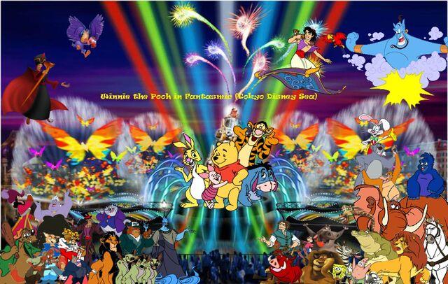 File:Winnie the Pooh in Fantasmic (Tokyo Disney Sea) Poster.jpg