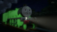 Henry in his glow-in-the-dark livery