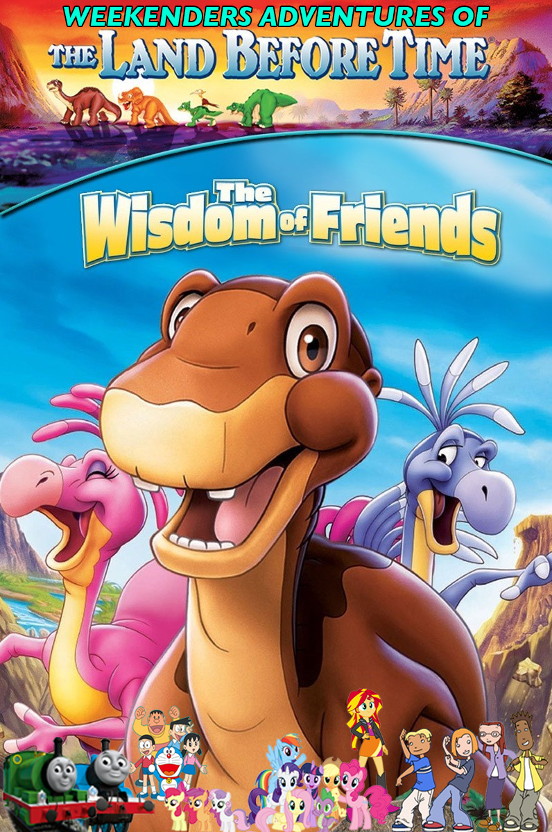 weekenders adventures of the land before time xiii the wisdom of