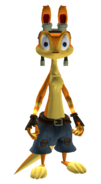 Daxter with pants render 1