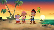 The Never Land Pirates (Jake, Izzy, Cubby and Skully)