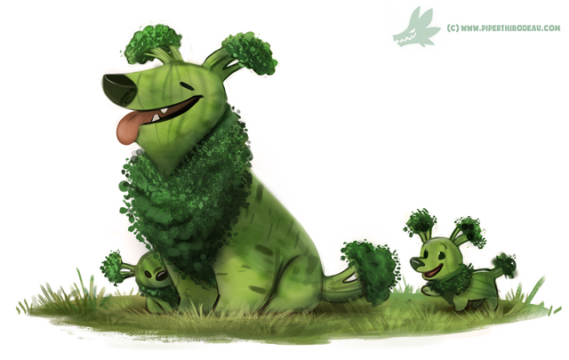 File:Daily paint 1234 broccollie by cryptid creations-d9y8h1x.png