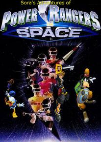 Sora's Adventures of Power Rangers in Space poster