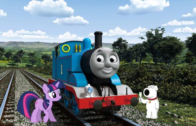 File:Brian with Thomas and Twilight.jpg