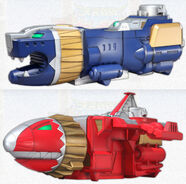 Knight Brothers Zords